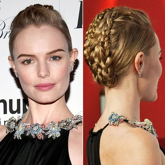 Tips on getting Kate Bosworth's braided updo - Do it yourself - DIY!
