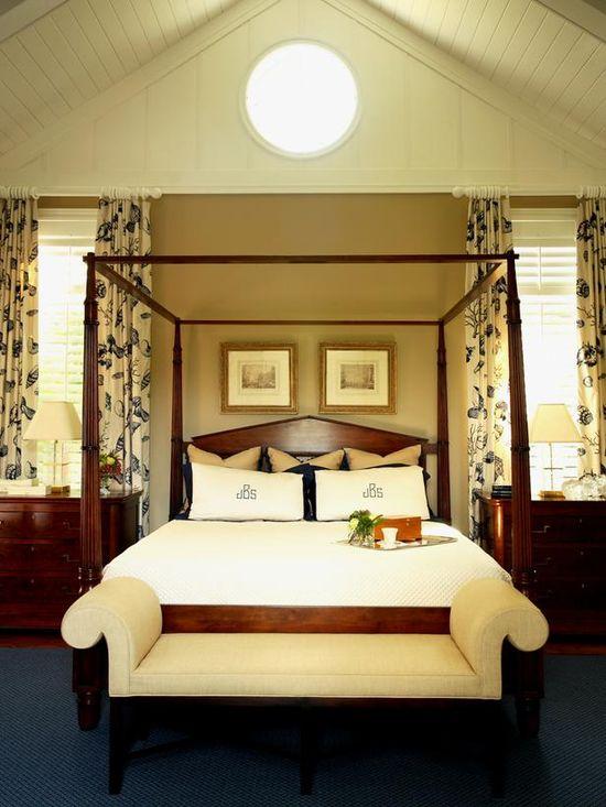 Coastal-Style Bedroom Retreat www.hgtv.com/...