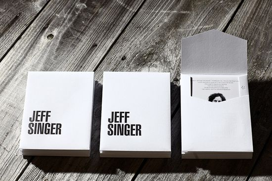 Jeff Singer Self Promotion