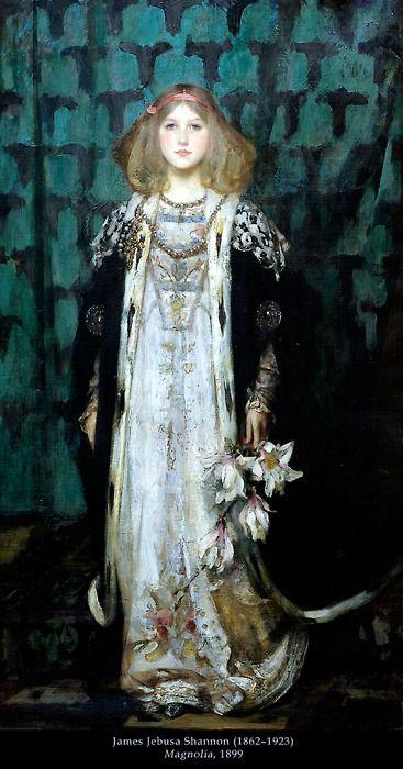 James Jebusa Shannon : Portrait of Magnolia 1899