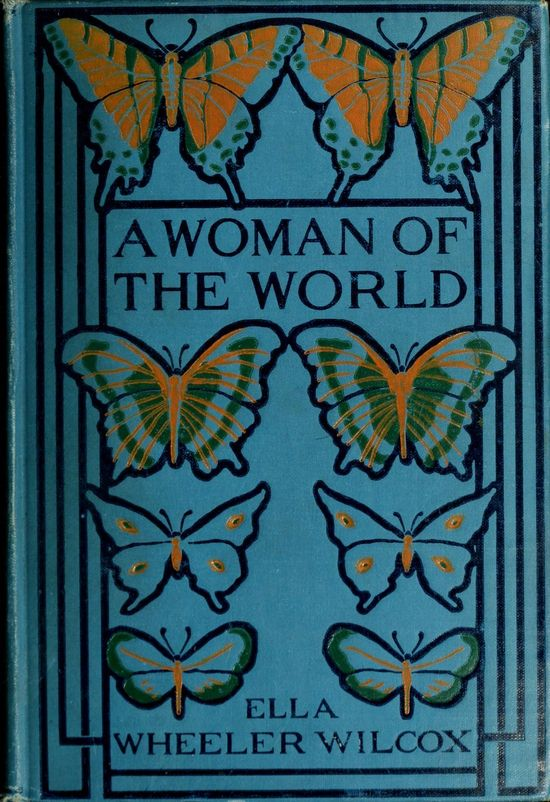 #vintage #book #cover #butterflies #blue,