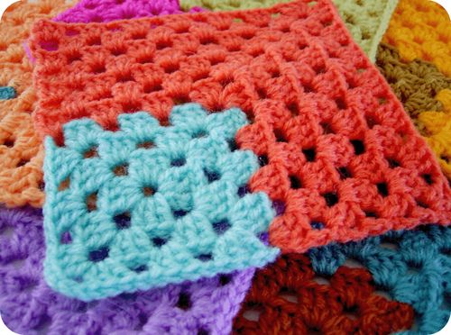 Ideas... Granny squares... No pattern