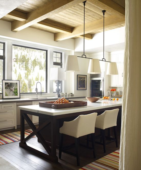 elle decor, Daily, montana, big sky, #kitchen decorating before and after #kitchen design