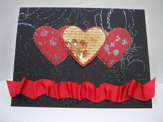 Romantic Valentines Card