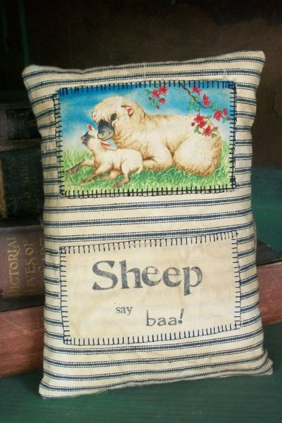 Sheep say baa by pocomedio on Etsy, $9.00
