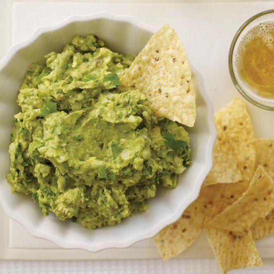 Chunky Guacamole with Cumin // More Fabulous Fast Mexican Dishes:  www.foodandwine.c... #foodandwine