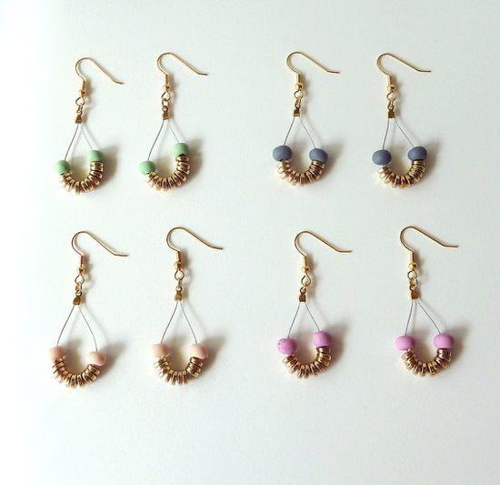 new tear drop earrings