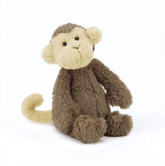 Bashful Baby Monkey by Jellycat