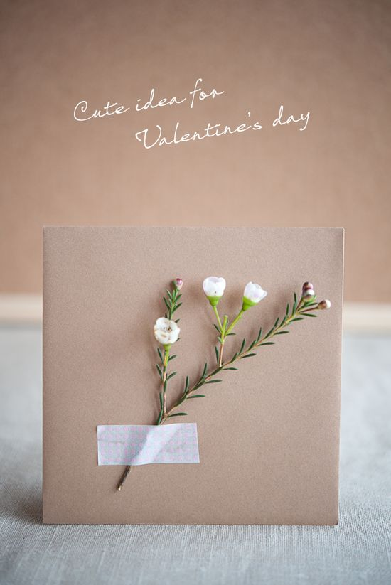 make a card for valentine's day