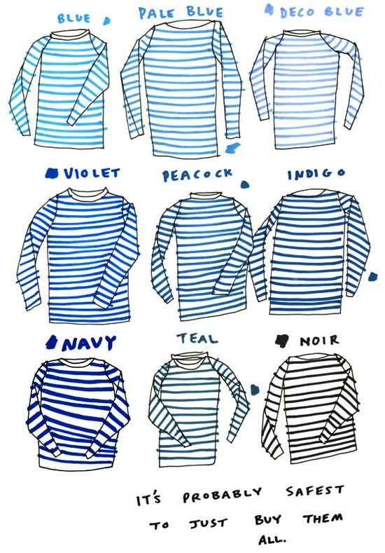illos / Striped Sailor Shirt