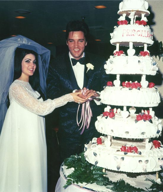 On May 1st, 1967 Elvis Presley and Priscilla Ann Beaulieu were married in Las Vegas, Nevada. The famous marriage didn't last with the couple getting divorced on October 9th, 1973. #elvis