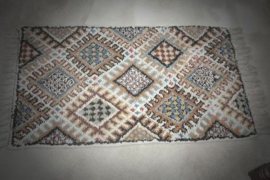 Moroccan Hand Made Rug Middle Eastern
