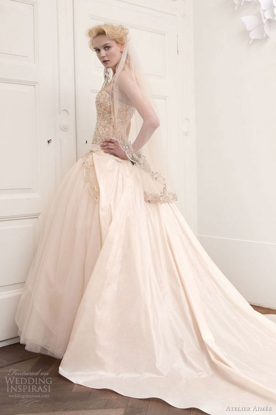 atelier aimee wedding dresses 2013 strapless ball gown full view