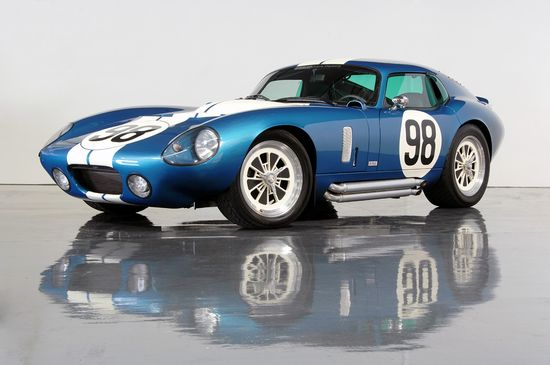 Powerful Shelby Daytona Cobra Coupe