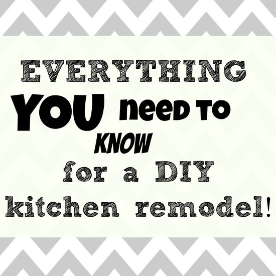This Little Estate: Everything YOU need to know for a DIY kitchen remodel.