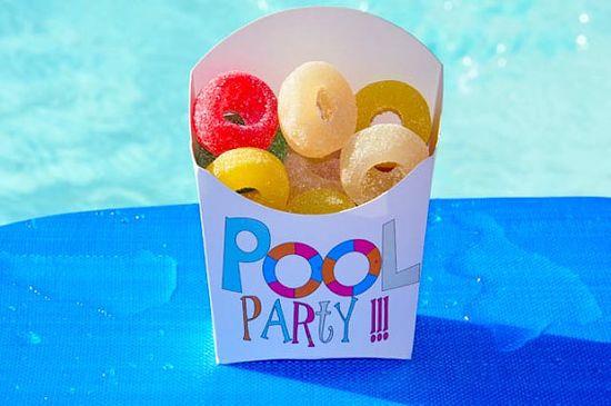 POOL PARTY...so many ideas