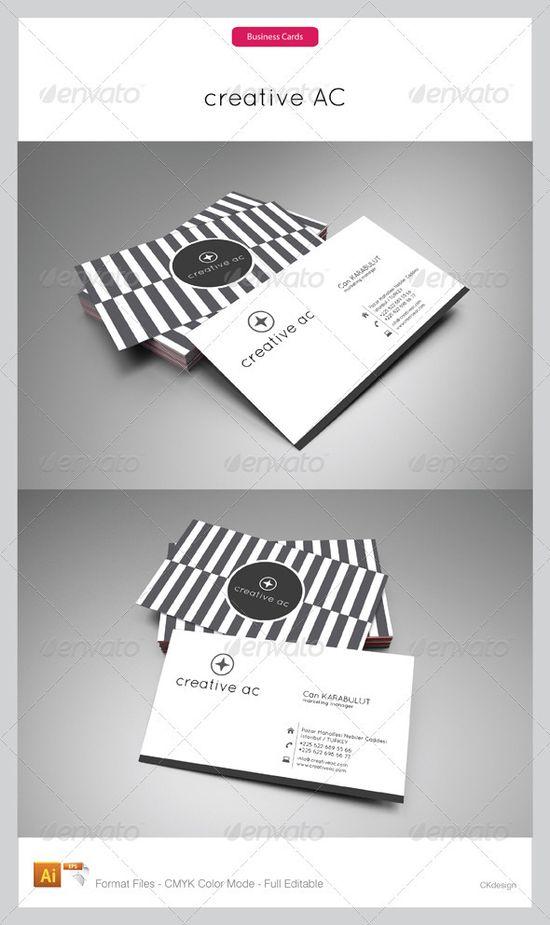 chic business card design - #graphic #design