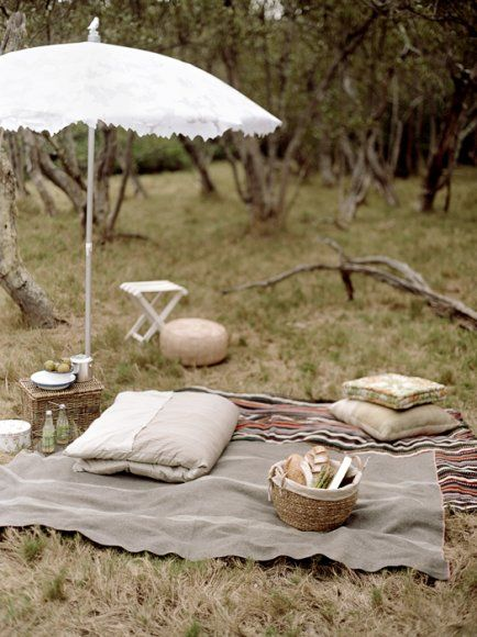 another way to picnic....lovely