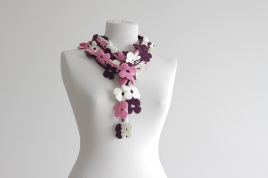 Women Crochet Scarf Accessories,    #Women #Crochet #Scarf #Accessories