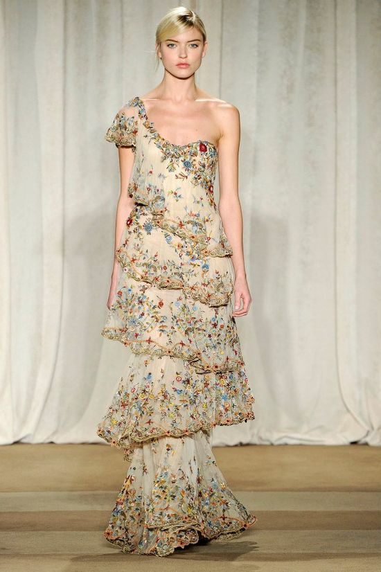 Marchesa Fall 2013 COllection