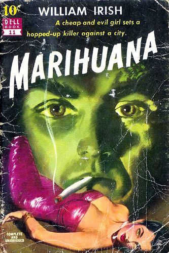 Pulp Fiction book covers ARTIST: Bill Fleming