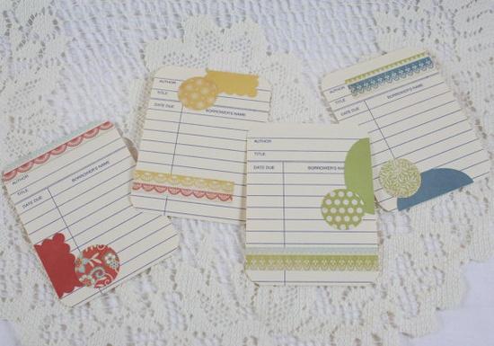 More Handmade Journaling Cards