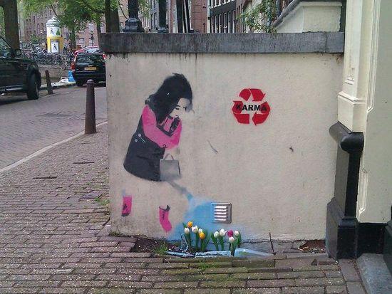 Karma Street Art Amsterdam