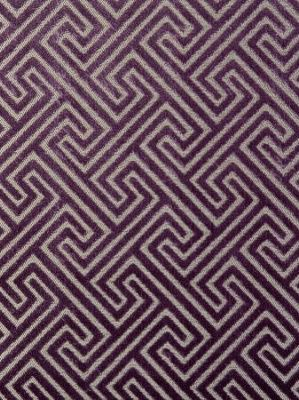 Clarke & Clarke Fabric Cosimo-Grape $141.75 per yard #interiors #decor #purplefabric #weitzmanhelpern