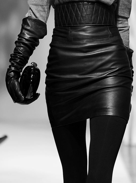 Leather love..