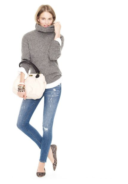 Sweater + skinnies