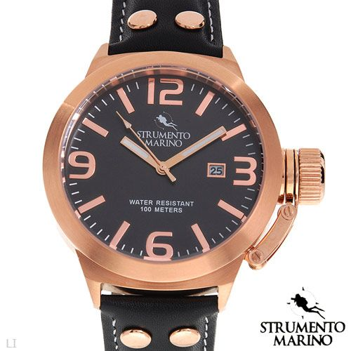 STRUMENTO MARINO SM047LRG/BK Men's Watch