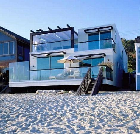 beach house. california