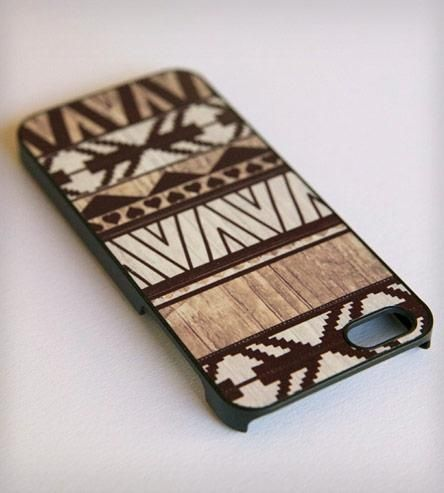 Aztec Print iPhone 5 Case - White