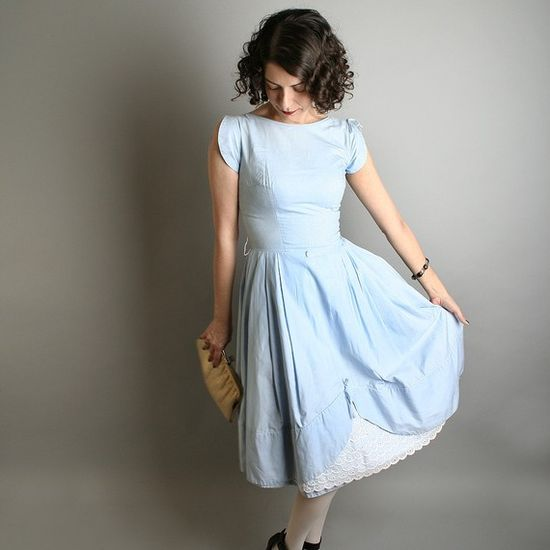 vintage party dress x