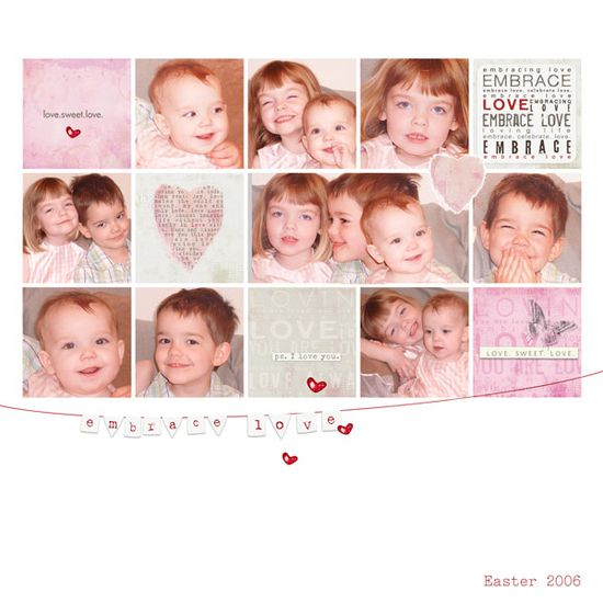 Layout by Michael #scrapbook #layout