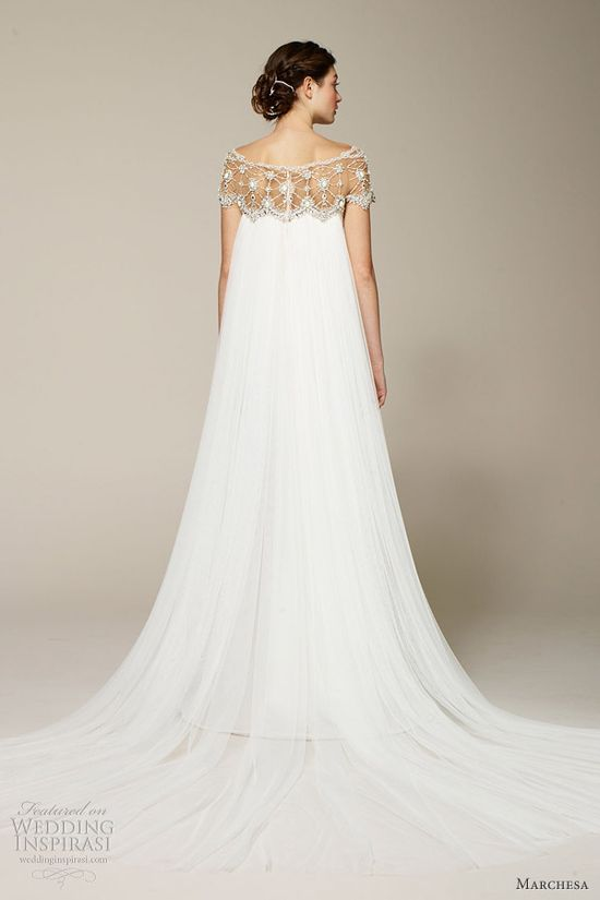 Love the romantic wedding dresses from Marchesa Spring 2013 bridal collection