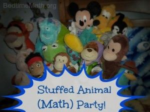 Stuffed Animal Party - @Bedtime Math