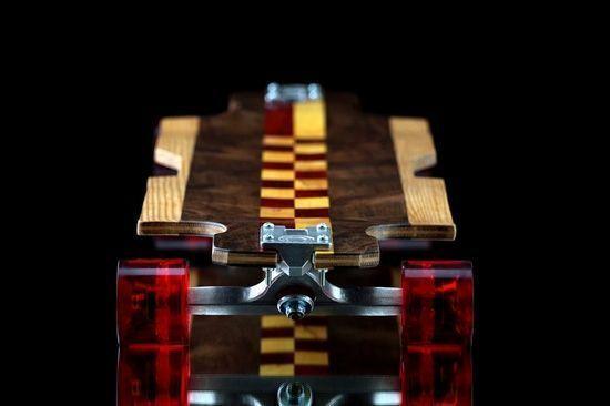 Alto Longboard Presents, The Artisan-1  #exotic #wood #handmade #longboard #skateboard #design #unique