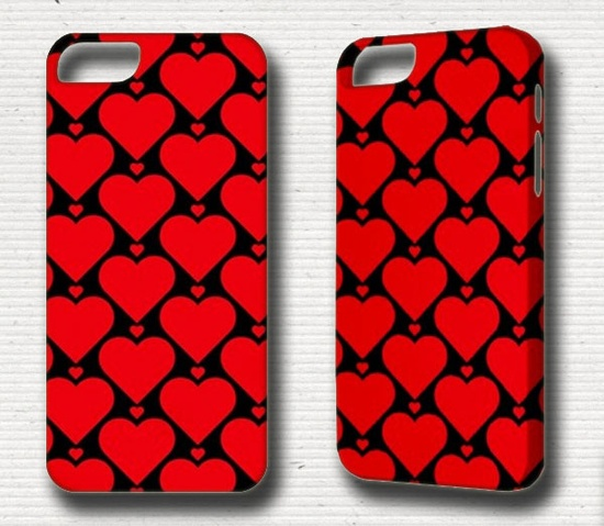 iPhone 5 Case Red Love iPhone 4 Case