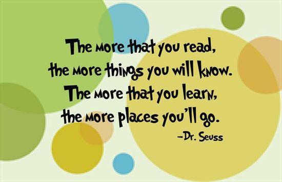 read, read, read!!