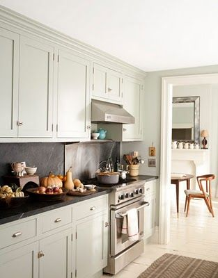 Love the cabinet color and countertop