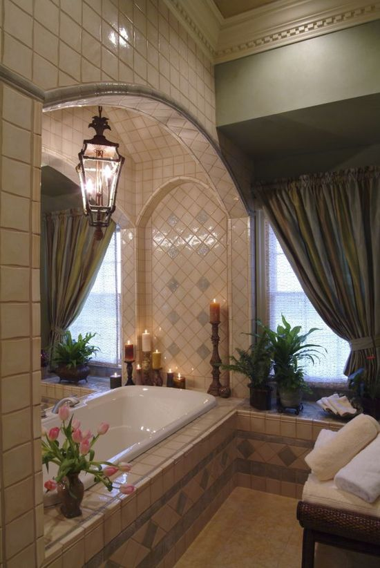 gorgeous bathroom ~ it's all about the details i want