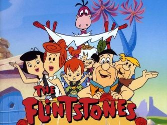 The Flintstones.  Too many hours in front of Saturday morning cartoons.