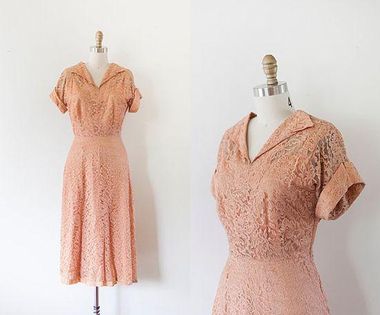 1940s Dress // ML by strawberrykoi on Etsy