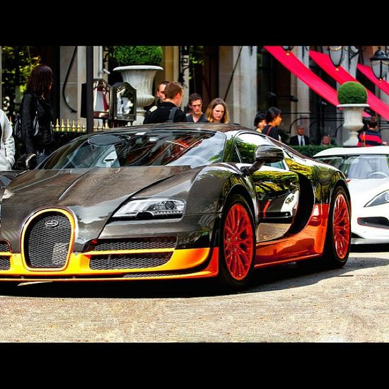 Stare in awe at the gorgeous Bugatti Veyron