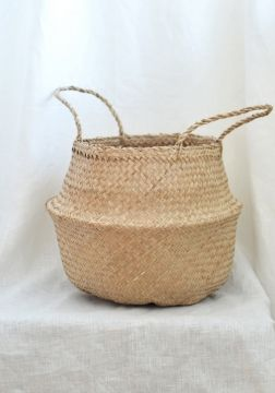NATURAL Basket handmade craft, natural, practical and very nice interior accessoire available at www.HEIMELIG-SHOP... we are an Austrian Lifestyle and Interior Design Concept Store