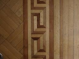 Transition between two wood floors