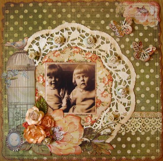 Peggy and Gerrie - Scrapbook.com