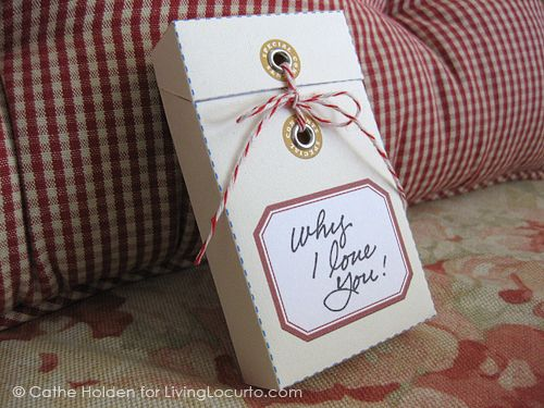 Message Gift Box Tutorial