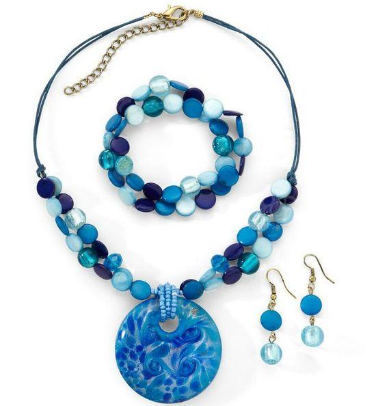 Jewelry Inspiration of Fresh Shell Beads Jewelry Set
